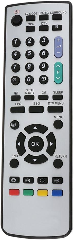 akaddy Reemplazo del Control Remoto para Sharp GA520WJSA GA531WJSA GA591WJSA TV: Amazon.es: Hogar
