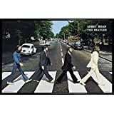 The Beatles Poster and Frame (Plastic) - Abbey Road (36 x 24 inches)