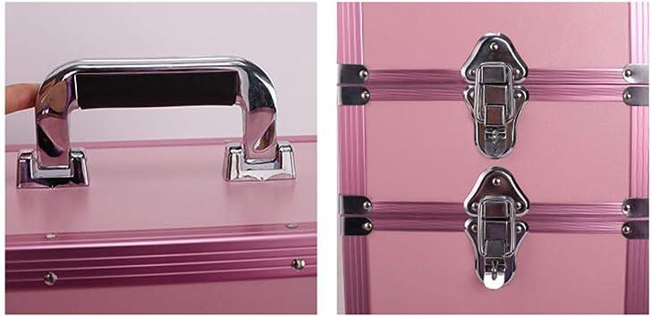 Z-Case@ 3 en 1 Maleta de Aluminio con Ruedas para Maquillaje ...