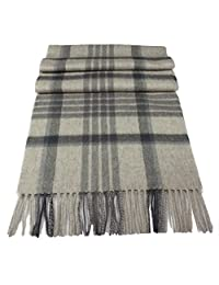 Urban Edge Soft, warm Pure New Wool scarf. Large size, in gift-box. Unisex.