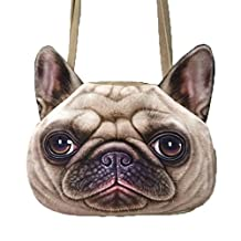 FTSUCQ Fuax Leather Cartoon Cat Shoulder Handbag Tote Messenger Bags Peekabo