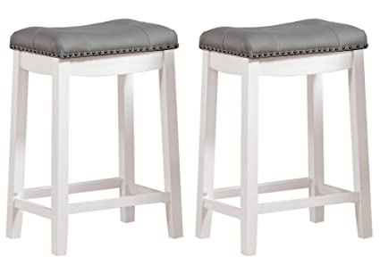 Amazoncom Angel Line 43418 21 Cambridge Bar Stools 24 Set Of 2