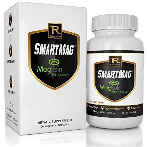 Best Magnesium Threonate - Patented Magtein Supplement - Triple Strength Formula W/ Taurate and Glycinate   Improve Memory, Brain Function, Sleep, and Heart Health - 90 Vegetarian Capsules