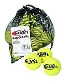 Gamma Sports Bag-O-Balls Pressureless Tennis Balls, Bag of 18