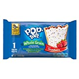 Pop-Tarts, BreakfastToaster Pastries, Frosted Strawberry Flavored, Bulk Size, 120 Count (Pack of 12, 17.6 oz Boxes)