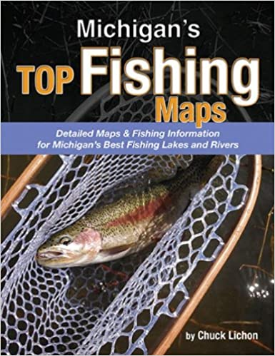 Michigans Top Fishing Maps Chuck Lichon 0081127003426 Amazoncom
