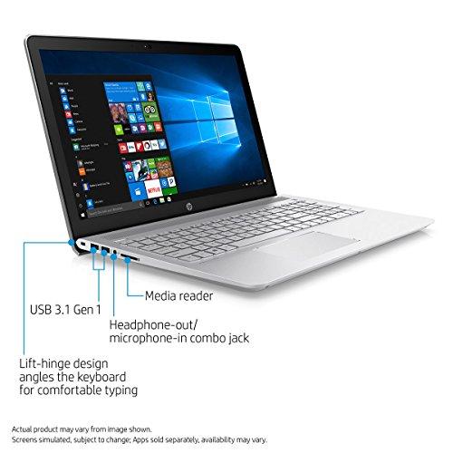 HP Pavilion 15.6 inch IPS BrightView FHD Premium Laptop | Intel i7-7500U | 12GB DDR4 | 256G SSD + 1T HDD | HD Webcam | HDMI | B&O Play Audio | Bluetooth 4.2 | Windows 10 Home