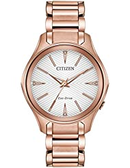 Citizen Womens Modena Rose Goldtone Watch