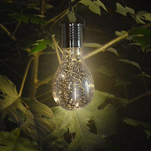 LiPing LED Waterproof Solar Rotatable Outdoor Garden Camping Hanging String Light Warm White- Soothing DécorationElegant Rope Light Suitable for Christmas, Weddings. (Velvet Rope For Sale)