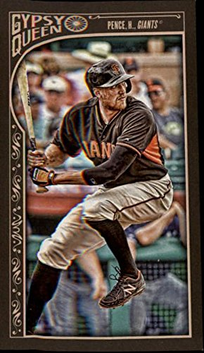 2015 Topps Gypsy Queen Mini #261 Hunter Pence -