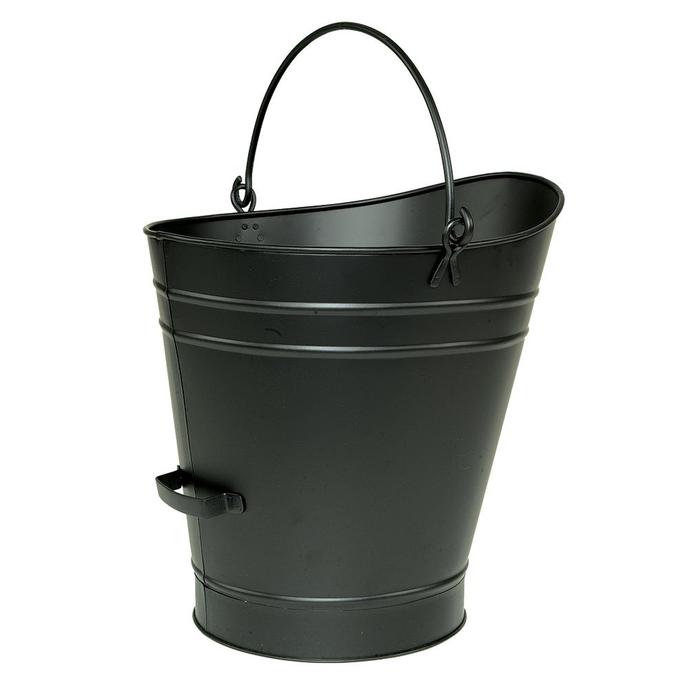 Minuteman International Hod, Large, Black Pellet Bucket by Minuteman International