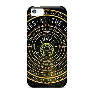 Shock Absorbent Hard Phone Cover For Iphone 5c With Provide Private Custom Fashion Papa Roach Series IanJoeyPatricia