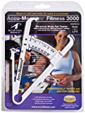 Accu-Measure Fitness 3000 Personal Body Fat Caliper Measurement Tool