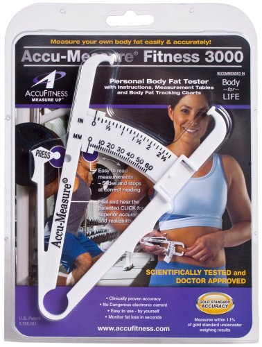 Scale 3000 (Accu-Measure Fitness 3000 Personal Body Fat Caliper Measurement Tool)