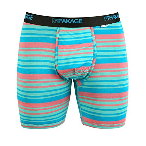 Mypakage Tropical Boxer Weekday Brief Stripe Men's zprzqnS