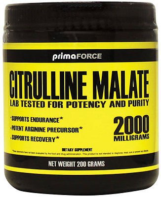 PrimaForce malate de citrulline