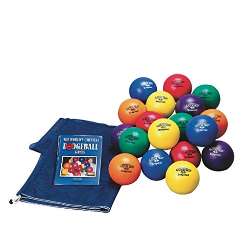 Gator Skin Elementary School Dodgeball Easy Pack by S&S Worldwide