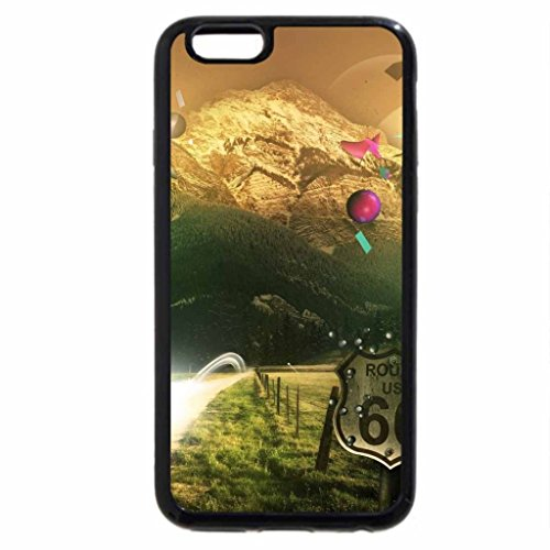 iPhone 6S / iPhone 6 Case (Black) beyond mountains