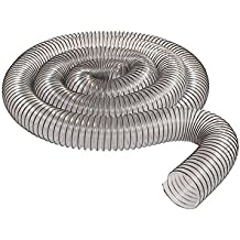 """2 1/2"""" x 10' CLEAR PVC DUST COLLECTION HOSE BY PEACHTREE WOODWORKING PW367"""