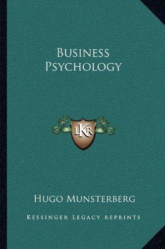 Business Psychology ebook