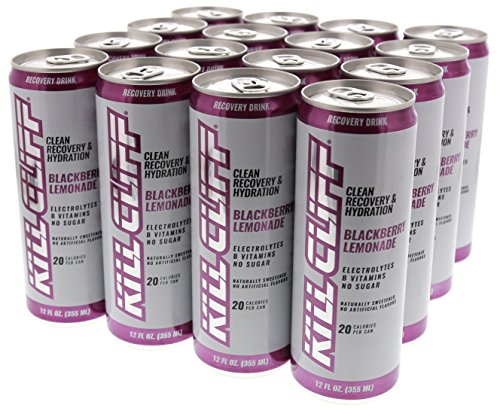 Kill Cliff Blackberry Lemonade Recovery & Hydration Drink 16 - 12 oz Cans