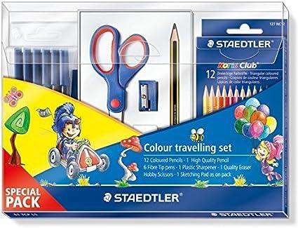 Staedtler - Set Escolar Completo (61 TCP L5): Amazon.es: Juguetes y juegos