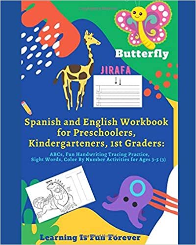 Spanish and English Workbook for Preschoolers