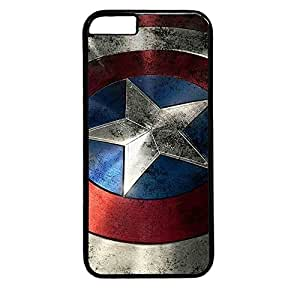 iphone 6 case,custom iphone 6(4.7) case, Captain America Shield I diy iphone 6 case,pc Material,Drop Protection,Shock Absorbent