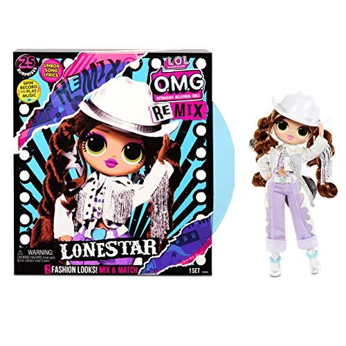 LOL Surprise OMG Remix Lonestar Fashion Doll, Plays
