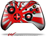 Rising Sun Japanese Flag Red - Decal Style Skin fits Microsoft XBOX One Wireless Controller (CONTROLLER NOT INCLUDED)