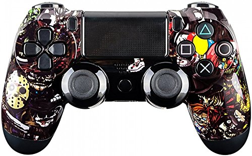 Dualshock 4 Wireless Controller For Playstation 4   Soft Touch  Scary Party