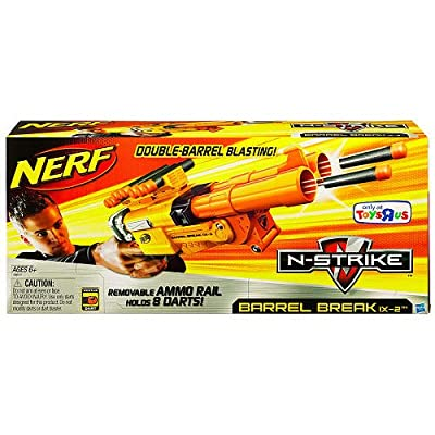 Nerf Barrell Break IX-2 ~ Exclusive: Toys & Games