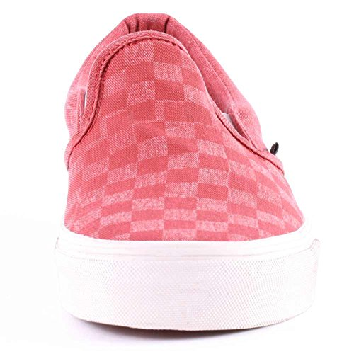 Men's Red Vzmrfj5 Vans Checker Tango Trainers Zwfvq7