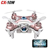 Cheerson CX-10W Real Time Wifi FPV Android / iOS Mini Quadcopter RC 4CH 2.4GHz 6 Axis Nano Drone HD Video Camera (Pink)