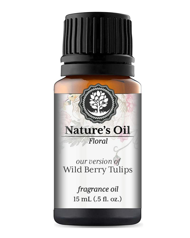 Wild Berry Tulips Fragrance Oil (15ml) For Diffusers, Soap Making, Candles, Lotion, Home Scents, Linen Spray, Bath Bombs, Slime