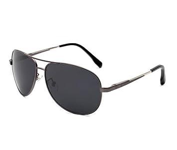 SHULING Gafas De Sol El Nuevo Hombre Gafas De Sol Polarizadas Conductor Sapo Conducción Espejo Gafas