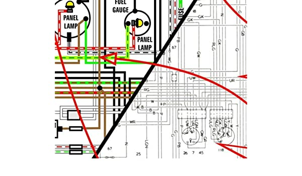 amazon com 1954 1962 nash amc metropolitan 11 x 17 color wiring amazon com 1954 1962 nash amc metropolitan 11 x 17 color wiring diagrams automotive