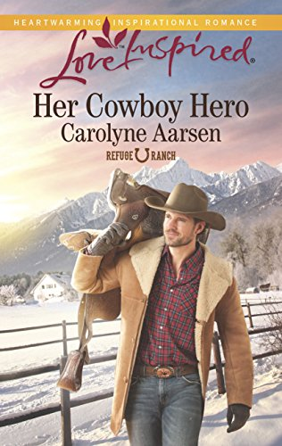book cover of Her Cowboy Hero