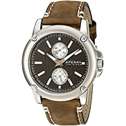 Sperry Top-Sider Men's 103525 Cruze Analog Display Japanese Quartz Brown Watch