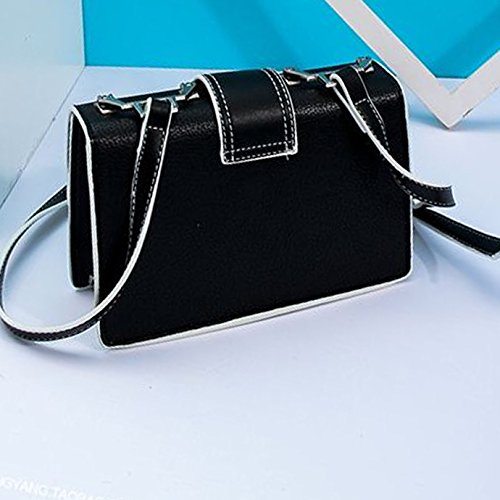 Bag Satchels Lady Leather PU Women Shoulder Handbag Black AiSi Cute APawqA