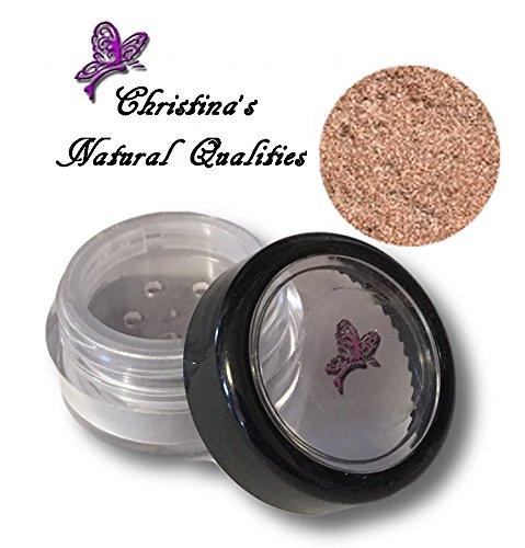 Christina's Natural Qualities All Natural Mineral Powder Shimmer Eye Color (Eyeshadow) - Honey Ice