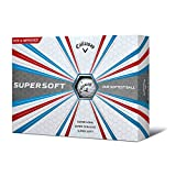 Callaway 2017 Supersoft Golf Balls (One Dozen) White