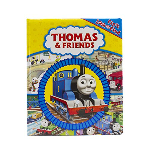 Thomas & Friends - First Look and Find - PI Kids (Thomas The Train Book And Figures)
