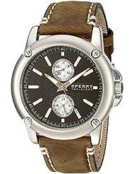 Sperry Top-Sider Mens 103525 Cruze Analog Display Japanese Quartz Brown Watch