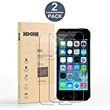 iPhone 6/6s Screen Protector Glass,Tech Armor HOOHIITempered Glass (0.26mm),9H Hardness Bubble Free, Anti-Fingerprint, Oil Stain(2 pack)
