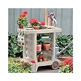Generic O-8-O-3079-O oor Yar Tools Outdoor ools Ou Gardening Storage g Stora Portable Potting ing Gar Yard Utility ench Ca Bench Cart Rolling HX-US5-16Mar28-1776