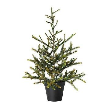 Künstlicher Tannenbaum Ikea.Ikea Fejka Künstliche Topfpflanze Weihnachtsbaum 12 Cm Amazon De