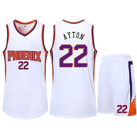 HSLUIQIUYI Andre Edgerton NBA Phoenix Suns 22Nd Maillot De ...