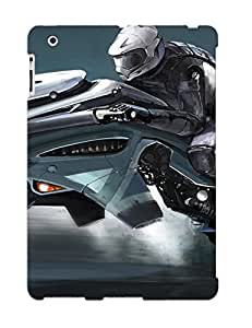 EVmrvRZ998KsQXM Motorcycle Of The Future Fashion Tpu Case Cover For Ipad 2/3/4, Series