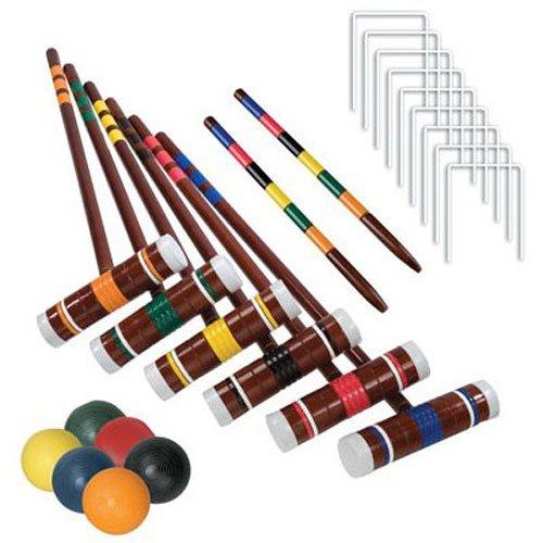 Franklin Sports #3332S1/06 Intermediate 6 Player Croquet Set